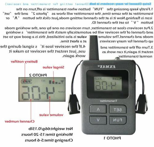 EXMAX Guide Microphone For Language