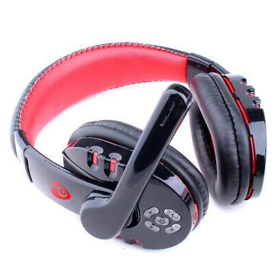 Wireless Gaming Headset w/ Mic Surround For PC Laptop PS4 Xb