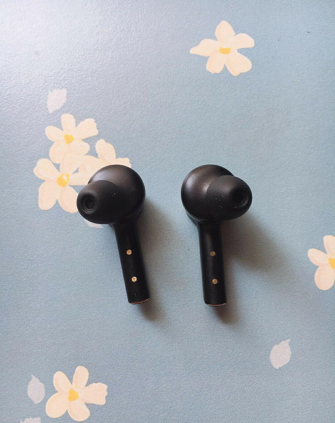 Wireless Bluetooth Headphone Earbud Headsets Android Black