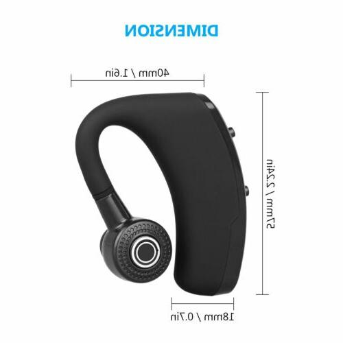 Wireless Bluetooth Hands Earpiece iPhone Samsung