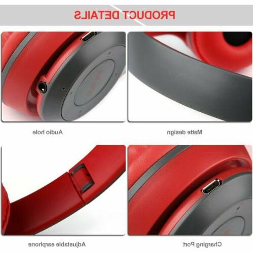 Wireless Bluetooth Headset Foldable Cancelling Ear Mic