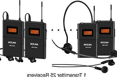 wireless tour guide systems guided audio equipment