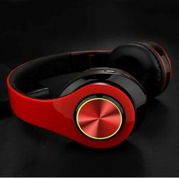 Super Bass Wireless Bluetooth Headphones Foldable Stereo Ear