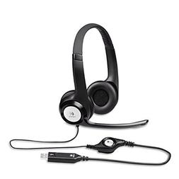 New Logitech - H390 USB Headset with Noise-Canceling Microph