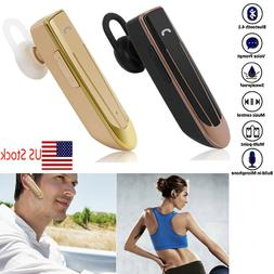 Long Talk Time Bluetooth Headset Wireless Headphone For Busi