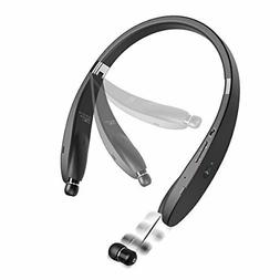LG LTE Neckband Wireless Bluetooth Headset w Retractable Ear
