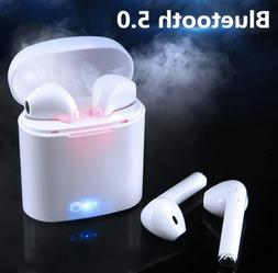 Mini Dual Wireless Bluetooth Earphone Earbuds For Android IO