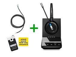 Mitel Compatible Sennheiser SDW 5015 Wireless Headset Bundle