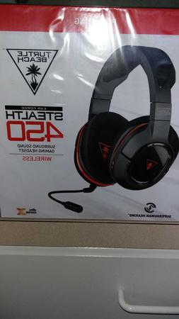 New Sealed Turtle Beach Ear Force Stealth 450 Wireless Gamin
