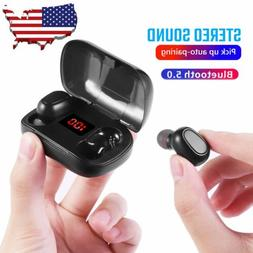 noise cancelling waterproof bluetooth 5 0 earbuds