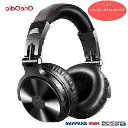 OneOdio Bluetooth Over-Ear Headphones DJ Stereo Monitor Wire