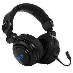 HUHD 2.4Ghz Optical Wireless Gaming Headset Stereo Sound for