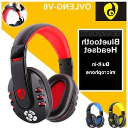 OVLENG V8 HIFI Gaming Headset Bluetooth Headphones with Micr