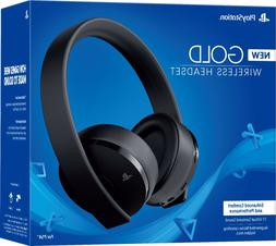 Sony PlayStation Gold Wireless Headset 7.1 Surround Sound PS