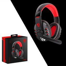 Wireless Gaming Headset with Mic Headphones Surround For PC