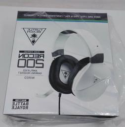 Turtle Beach Recon 200 White Amplified Gaming Headset for Xb