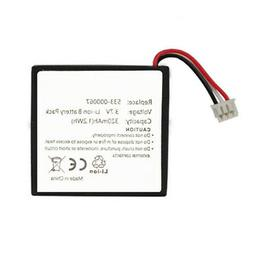 Replacement 533-000067 AHB472625PST Battery for Logitech H80