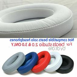 Replacement Ear Pads Cushion Cover for Beats Studio 2/3.0 Wi