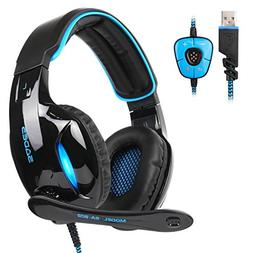 SADES SA902 New Update Gaming Headset 7.1 Channel Virtual US