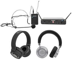 SAMSON Concert 88 Wireless UHF Headset Microphone System w/H