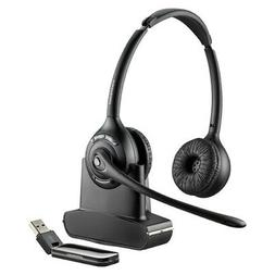 Plantronics Savi W420 Wireless Headset w/ Dual Earpiece