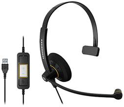 Sennheiser SC30 USB CTRL Single-Sided Wideband Hdst UC Cultu