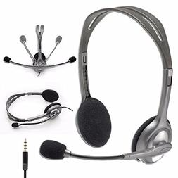 Logitech Stereo Headset H111/H110 with Noise Cancelling Micr