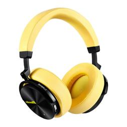 Bluedio T5 Bluetooth Headphone Active Nosing Cancelling Yell