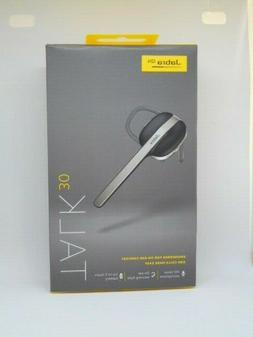 Jabra Talk 30 Bluetooth Headset for High Definition Hands-Fr