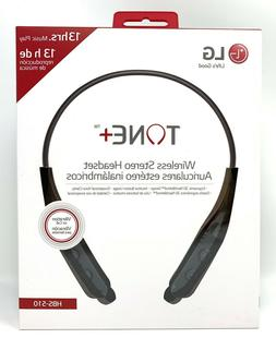 LG TONE+ HBS-510 Wireless Bluetooth Headset - Black 13hrs Mu