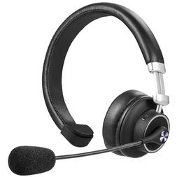 Wireless Headset with Mic for Zoom Skype Meeting Home Office