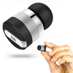 True Wireless Bluetooth Earbud w/ Mic & Noise Reduction Tech