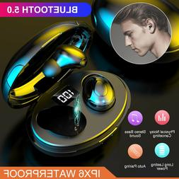 TWS Bluetooth 5.0 Wireless Earphones Headphones Mini Earbuds