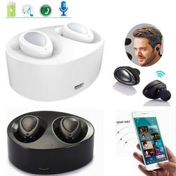 TWS True Wireless Bluetooth Stereo Headphones Earphones Earb