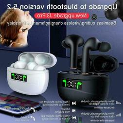 TWS Wireless Earbuds Bluetooth 5.2 Earphones Headset In-Ear