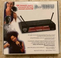Nady UHF-4 Wireless Headset Microphone System with True Dive