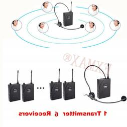 EXMAX UHF-938 UHF Wireless Headset  Monitoring System 1 Tran