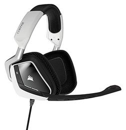 Corsair VOID RGB USB Dolby 7.1 Gaming Headset - Stereo - Whi