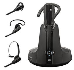 Jabra VXi V300 Convertible Wireless Headset with Triple Conn