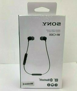 wi c300 in ear headphone bluetooth wireless