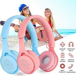 Wireless Bluetooth 5.0 Over Ear Headphones Stereo Headsets w
