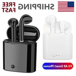 Wireless Bluetooth Earbuds Earphone with Charger Box for iOS