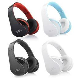 Wireless Foldable Headset Stereo Headphone Hands-free for iP