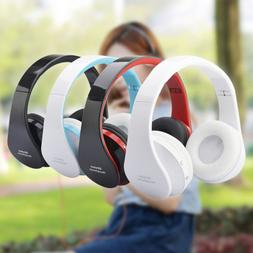 Wireless Bluetooth Foldable Headset Stereo Headphones Spotrs