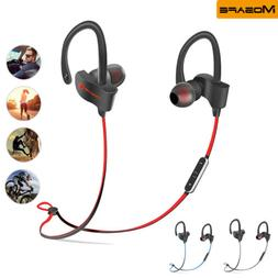 Wireless Headset Bluetooth Headphones Sport Earbuds Earphone