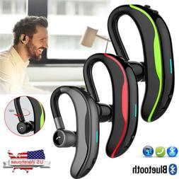 Wireless Bluetooth Headset Noise Cancelling Earpiece Earphon