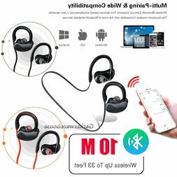 Wireless Bluetooth Headset Stereo Headphone Earphone Sport F