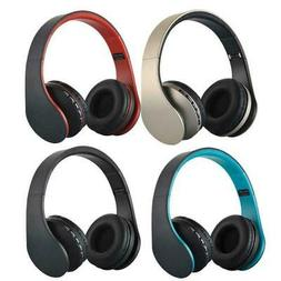 Wireless Bluetooth Headset Stereo Headphones Earphone With M