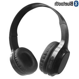 Wireless Bluetooth On Ear Headphones Stereo Headset with Mic