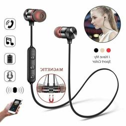 Wireless Bluetooth Sport Gym Headphones Earphones Earbuds He
